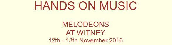 Melodeons at Witney